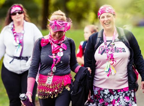 charity event - run, walk, or bike fundraising - Elizabeth's 2019 3 Days