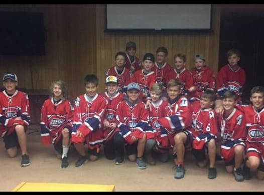ice hockey fundraising - Fredericton PeeWee AAA Canadiens