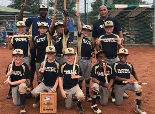 baseball fundraising - Clutch Baseball  12U