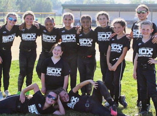 softball fundraising - NWI SOX 10U - Wilkins