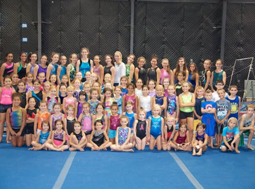 gymnastics fundraising - ELITE GYMNASTICS CENTER