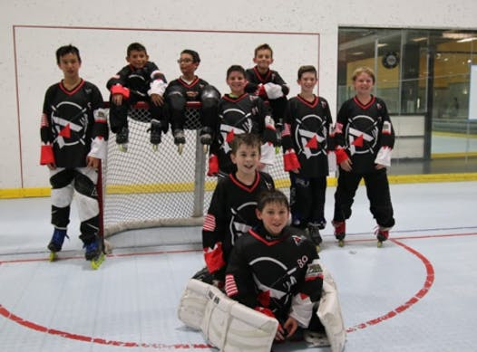 inline hockey fundraising - San Jose AIM