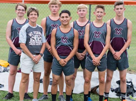 Mount Vernon Wildcats Boys Cross Country