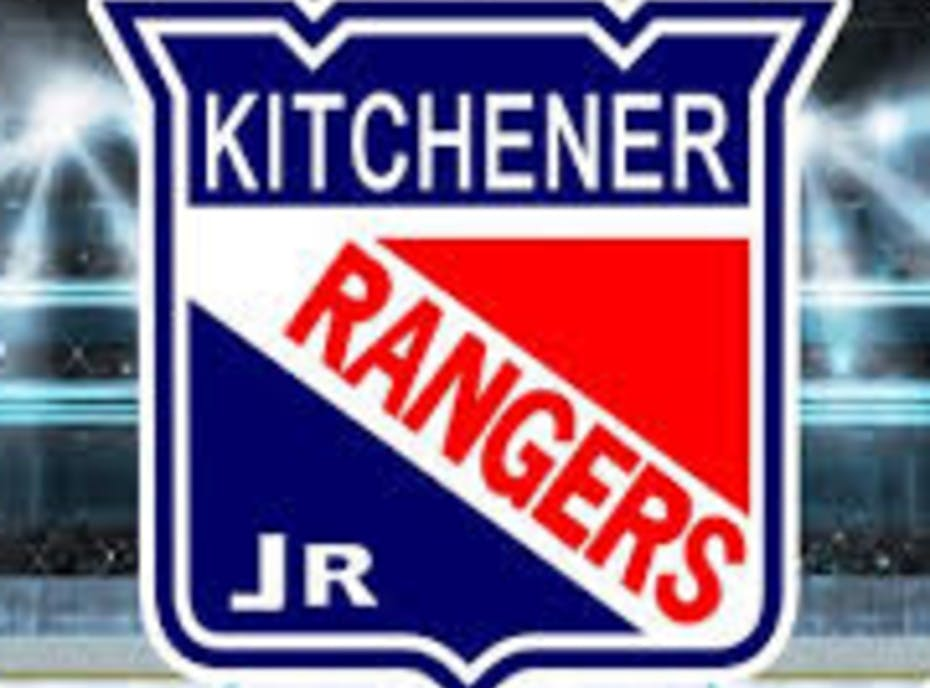 Kitchener Jr. Rangers Minor Atom MD Blue