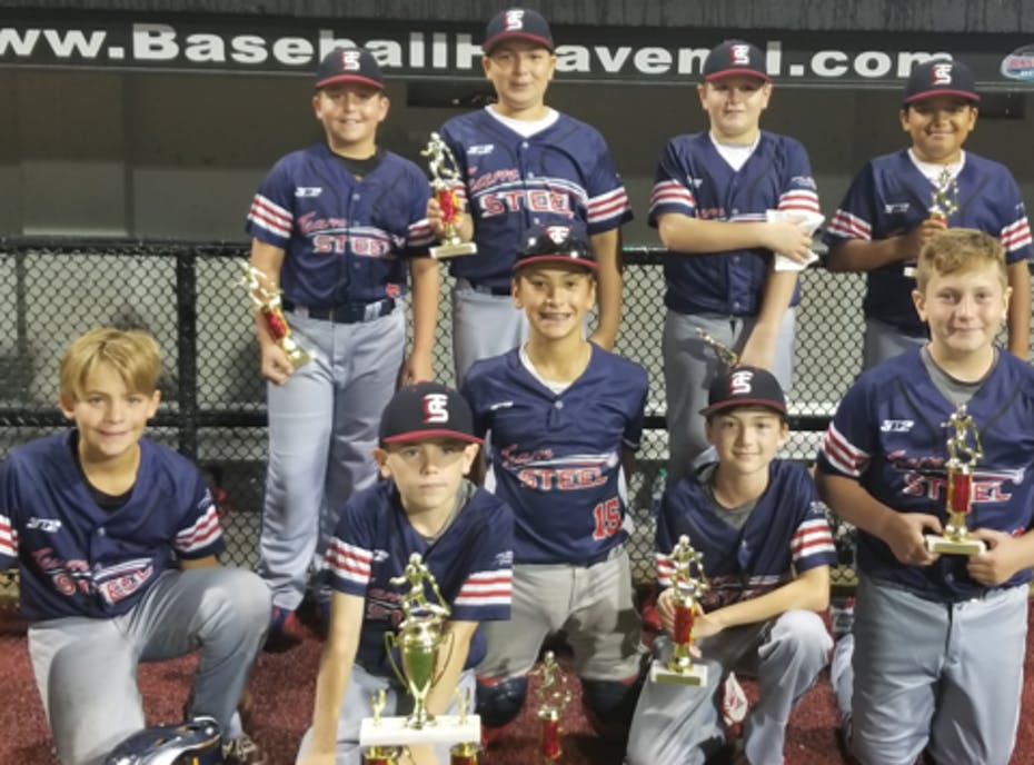 Team Steel Gold 12u