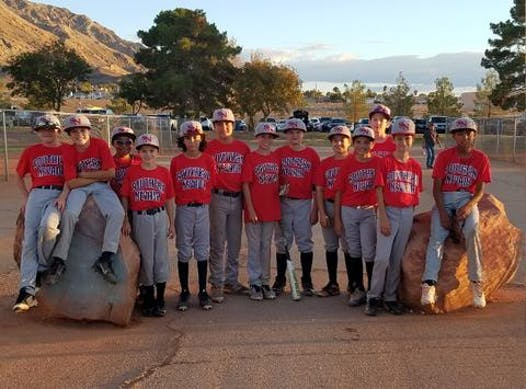 baseball fundraising - Southern Nevada Baseball 12U