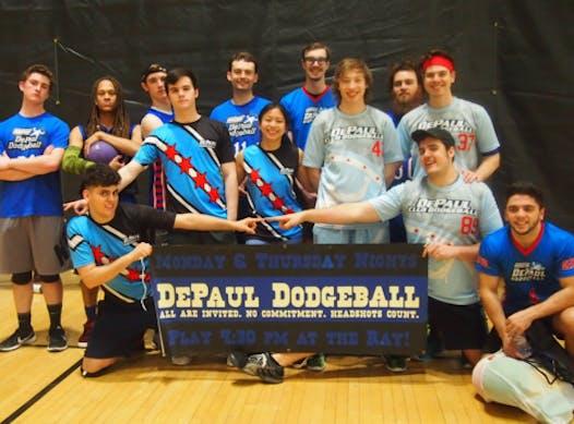 school sports fundraising - DePaul Dodgeball Society