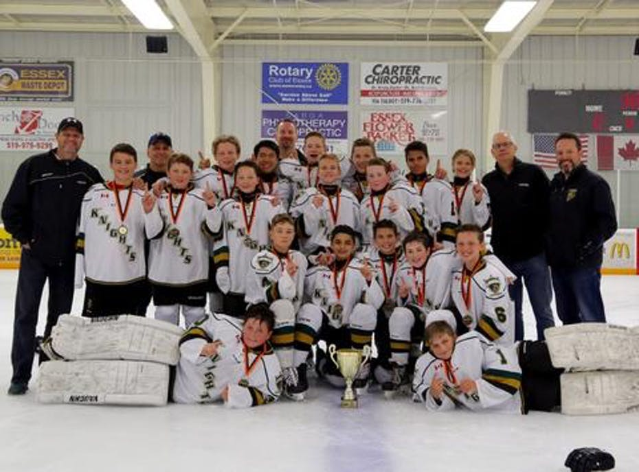 London Junior Knights 2005 AA Green
