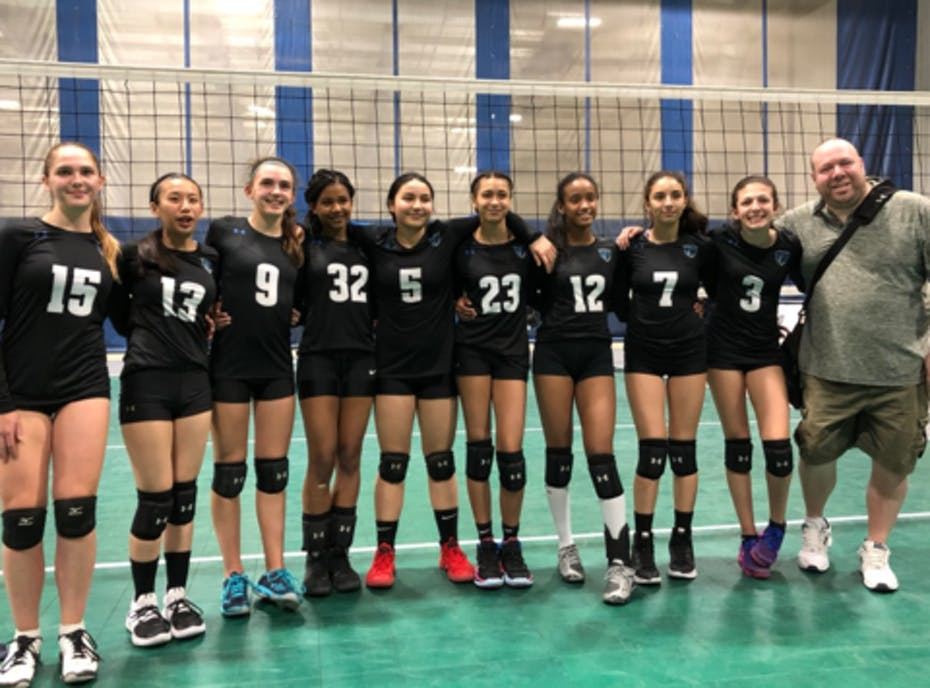 Titans Volleyball U15 Menace
