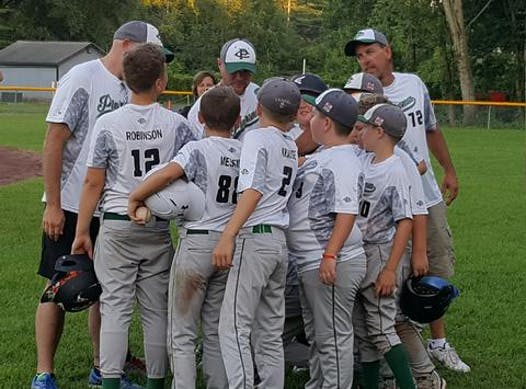 baseball fundraising - Clifton Park Plainsmen (12u White)
