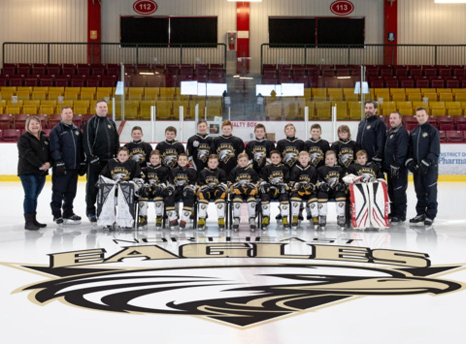 Northeast Eagles 2018 Atom B Allstars