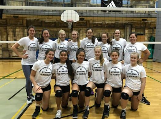 volleyball fundraising - 16U Leaside