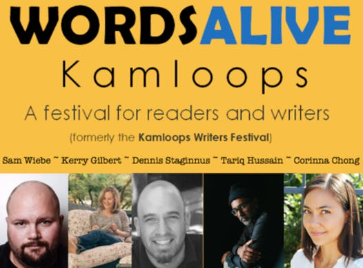 arts programs fundraising - Words Alive Kamloops