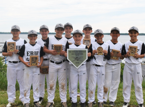 baseball fundraising - Erie Outlaws 12U Black