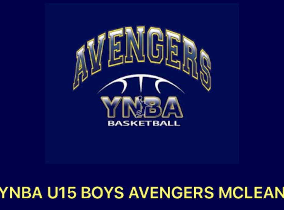 YNBA Avengers- Team Tucker