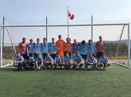 soccer fundraising - Feildian BU15