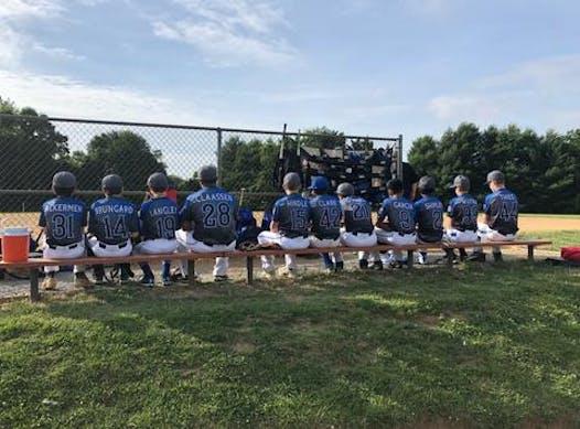 baseball fundraising - Southern Maryland Bulldogs 12U White