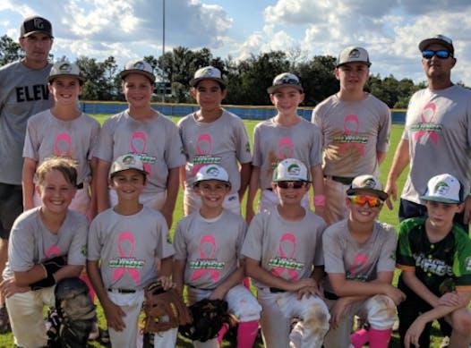 baseball fundraising - Surge 12U