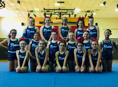 cheerleading fundraising - HOWELL REBELS RAGE