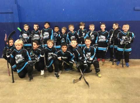ice hockey fundraising - Flying Rockets