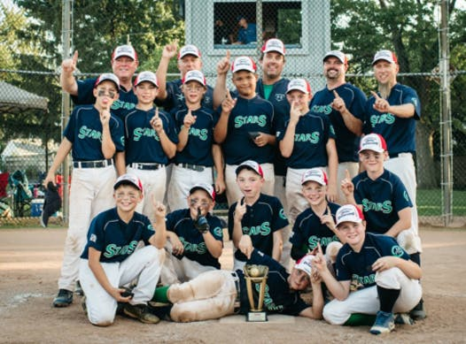 baseball fundraising - Windsor Stars PeeWee Minor (2007)