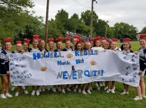 cheerleading fundraising - Howell Rebels INTENSITY
