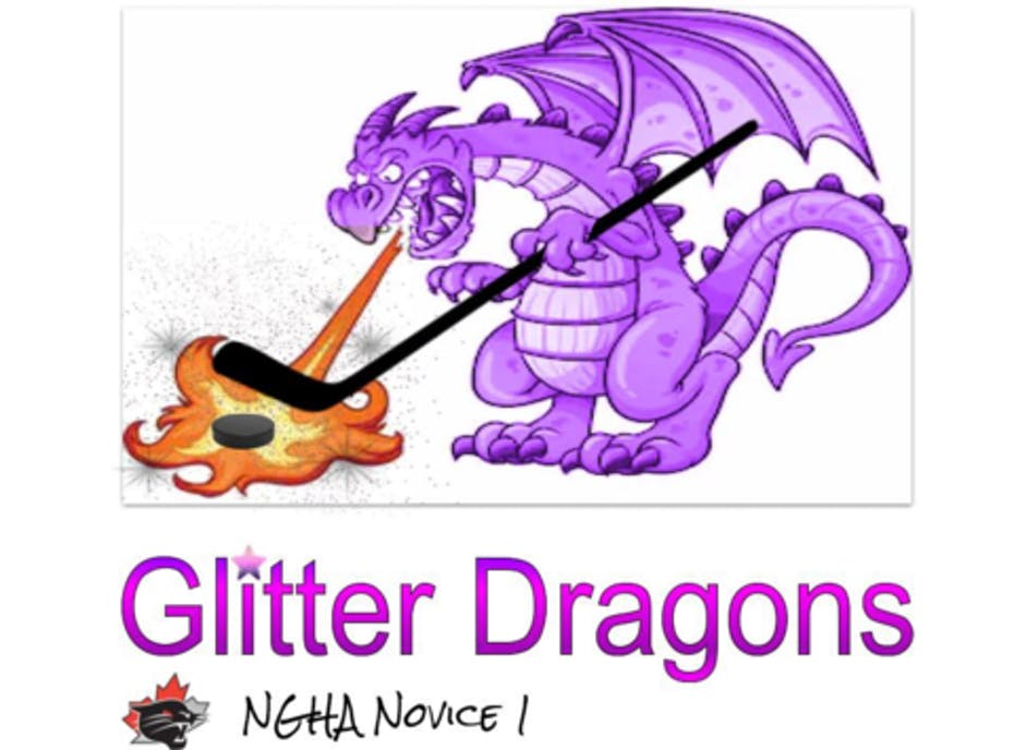 Glitter Dragons
