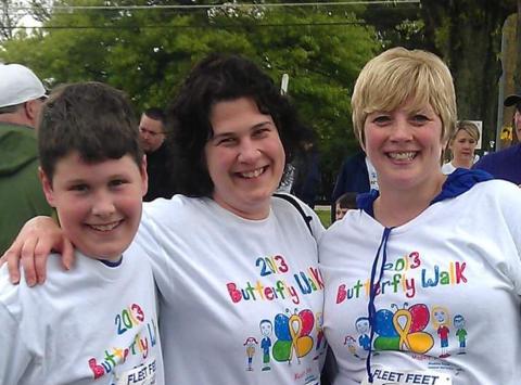 charity event - run, walk, or bike fundraising - CancerFree Kids Butterfly Walk