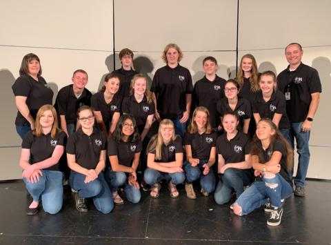 Sisters High School Jazz Choir 2018-19