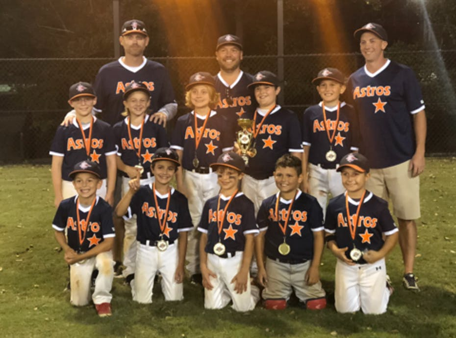 9U East Cobb Astros Navy