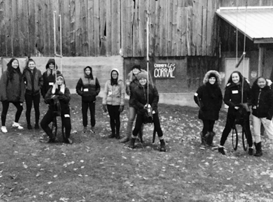 Richmond Hill Rebels U16 Girls Rep Softball Team