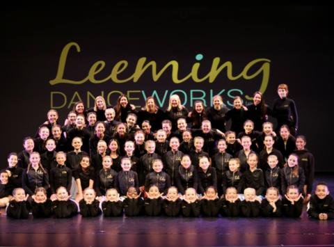 dance fundraising - Leeming Danceworks Competitive Team
