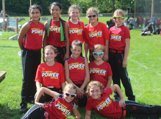 softball fundraising - Pittsburgh Power 10U