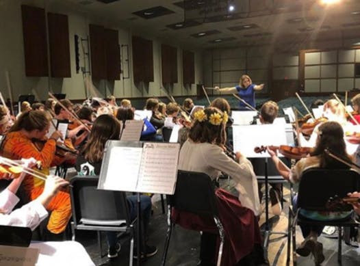 music fundraising - Central Bucks West HS Orchestra