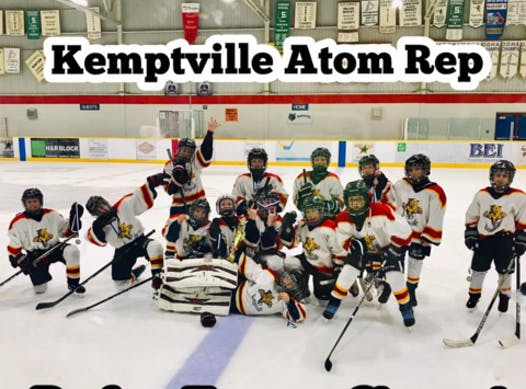 ice hockey fundraising - Kemptville Panthers Atom Rep