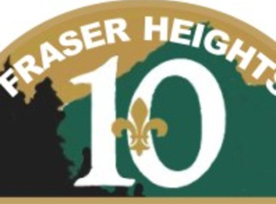 10 Fraser Heights Scouts