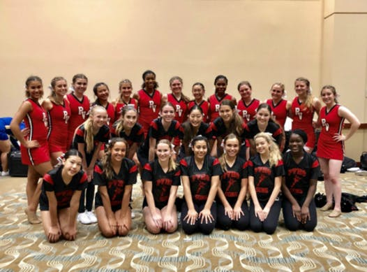 cheerleading fundraising - Palos Verdes High Song Teams 2018/19