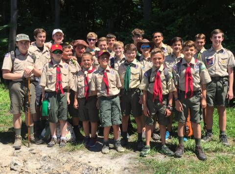 scouts fundraising - Troop 55 Saint Columban 2018 Fundraising