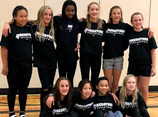 volleyball fundraising - Preds 13U Strive