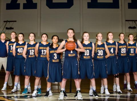 basketball fundraising - Hood River Valley Eagles Girls Basketball