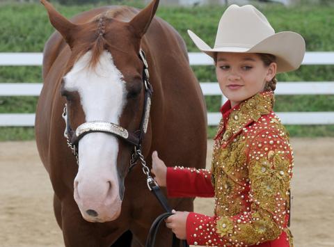 equestrian fundraising - WPRD, McKenna