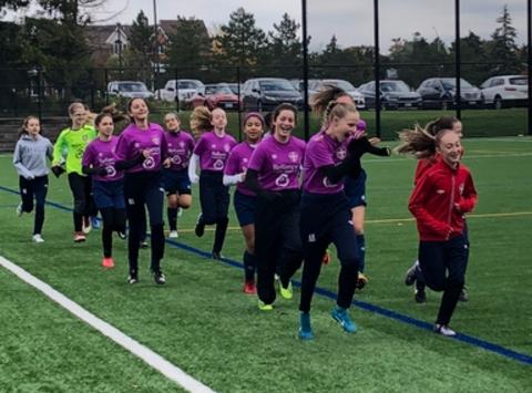 soccer fundraising - Girls 2006 U13B