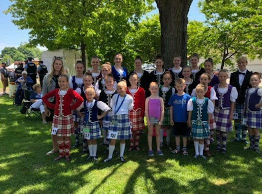dance fundraising - Lindsay Rose Highland Dance Company