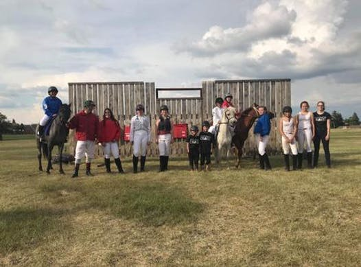 equestrian fundraising - Junior Jockeys of Flying Cross Ranch