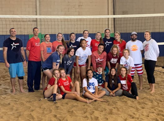 volleyball fundraising - Stars and Stripes Beach Volleyball