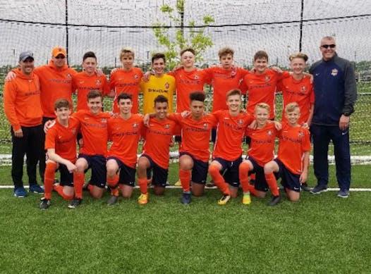 soccer fundraising - SDA 2003 Boys