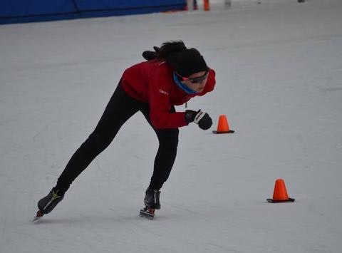 speed skating fundraising - Keep Claire Racing (KCR)