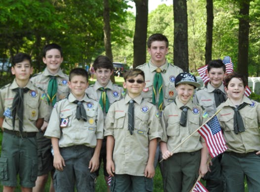 scouts fundraising - Troop 294