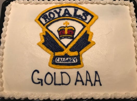 ice hockey fundraising - Calgary Royals M15 AAA Gold
