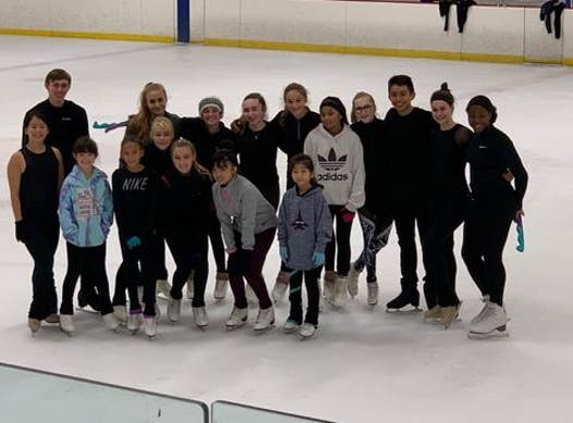 figure skating fundraising - Ice Academy Productions